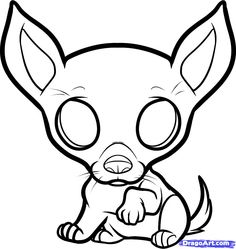 chihuahua coloring pages - Bing Images