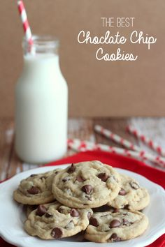 Our all-time FAVORITE Chocolate Chip Cookies recipe!