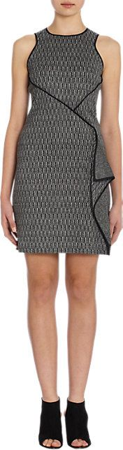 ICB Herringbone Sleeveless Dress - Short - Barneys.com
