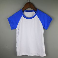 >> Click to Buy << kid short sleeve raglan shirt child t-shirt wholesale raglan t-shirts children boutique shirts retail t-shirt royal blue shirts #Affiliate