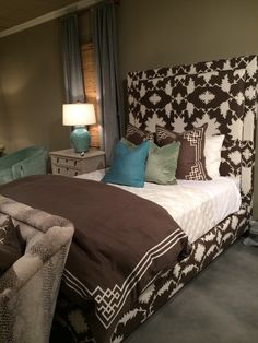 CR Laine Keaton Bed with Mary McDonald fabric #HPTMKTSS #HPTMKT