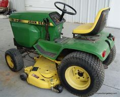 1992 John Deere 322 Riding Lawn Mowers For Sale At John Deere Lawn Tractor