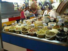 Olives, olives and more olives.....