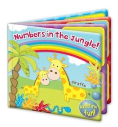 Numbers in the Jungle – Libro para baño