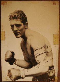 "Boxer BILLY CONN ""The Pittsburgh Kid"" SIGNED PHOTO, 5x7 
