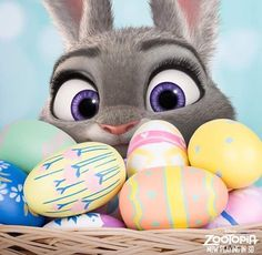 Imagem de easter, zootopia, and eggs