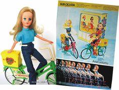 Boneca Susi Ciclista de 1974