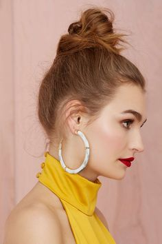 Melody Ehsani Ruhiyyih Hoop Earrings | Shop What's New at Nasty Gal