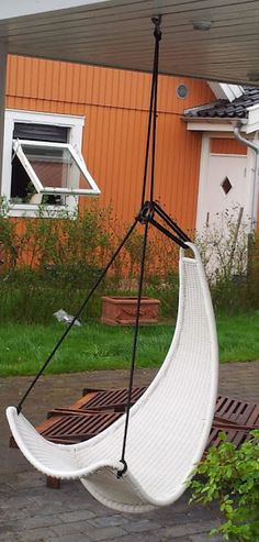 PS SVINGA children's swing goes outside for everyone!  Get the how-to here