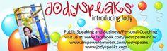 Coaching and Speaking Services - #jodyspeaks #coaching #speaking