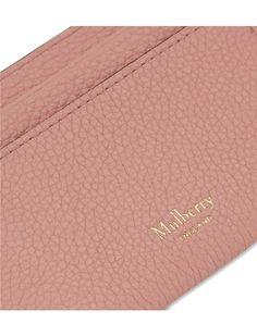 MULBERRY - Grained leather card holder   Selfridges.com