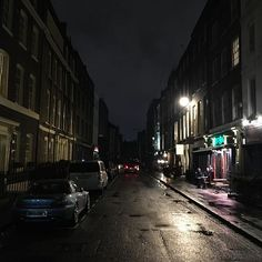 Power cut in soho. Its like the war