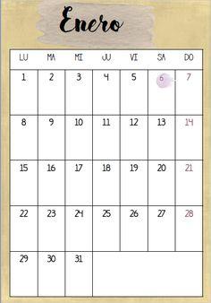 Calendario-2018-descargable, mar vidal, decoración, interiores, orden, organización, descargables, actividad, calendarios, calendario 2018