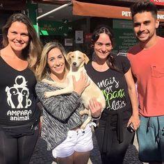 BONDE DA BARDOT:  Daniele Hypólito é ouro: Ginasta adota cadelinha vira-lata no Rio de Janeiro