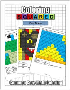 First Grade Math Coloring $9.95