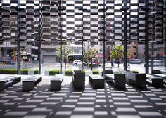Asahi Broadcasting Corporation (2008) | Fukushima-ku, Osaka • Kengo Kuma + Associates.