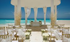 Imagina casar num lugar paradisíaco desses? Le Blanc Spa Resort em Cancun no México #cancun  #paraiso  #cerimonia  #casamento #elegante  #casare  #sitedecasamento