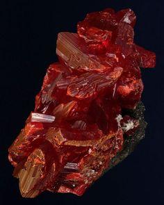 Minerals, Crystals & Fossils - Realgar - Shimen Mine, Shimen County, Hunan...