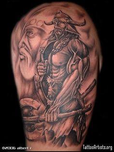 Viking Tattoo.