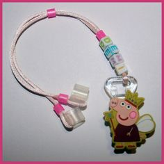 Demi Peppa Pig personalized Hearing Aid Retainer