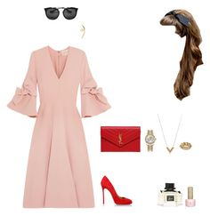 """""""Untitled #788"""" by r783x ❤ liked on Polyvore featuring Roksanda, Dsquared2, Yves Saint Laurent, Prada, Rolex, Louis Vuitton, Wasson Fine, Christian Dior and Gucci"""
