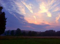 Sunrise in Lerona, WV, a few miles from Pipestem Resort State Park