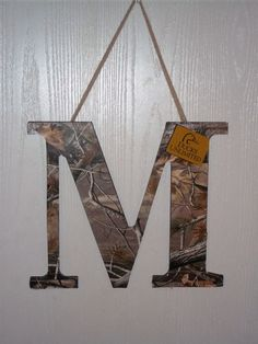 Because everyone loves Camo ... Made this for a little boy's room