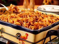Amish Country Casserole - The Amish are known for many homestyle dishes, and this warm and comforting casserole is one of them.