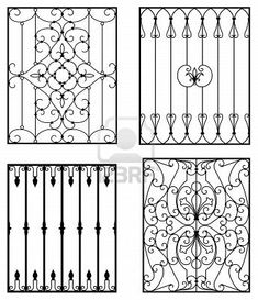 A Short History Of Wrought Iron Door Inserts Wrought iron is an excellent material for making protective and decorative doors. The metal is made out of pure iron. It was the metal of choice for.