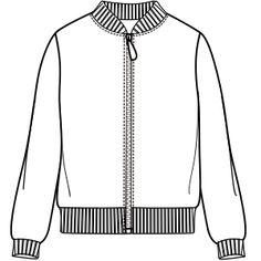 Descubre los patrones de moda que emplean las marcas más prestigiosas Campera 6881 DAMA Camperas
