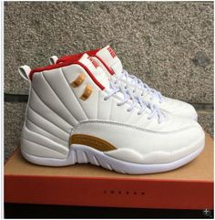 low priced 95688 0abb2 Nike Air Jordan Retro 12 XII CNY Chinese New Years Brown Red 881428-1421