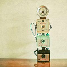 Vintage cameras Inspirational Tuesday | Cassia Beck