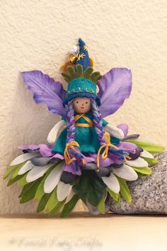Flower Fairy by Lenka at Forest Fairy Crafts