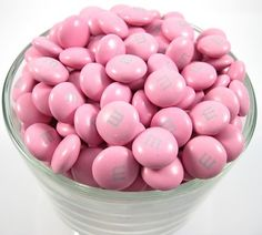 Pink M&M's® #nutsdotcom  #wedding