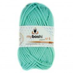 MyBoshi Wolle No.5 - meerblau