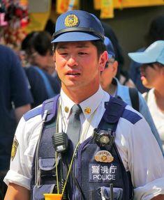 Japanese Men, Japanese Culture, Police Uniforms, Law Enforcement, Cops, Asian Beauty, Hot Guys, Captain Hat, Instagram Posts