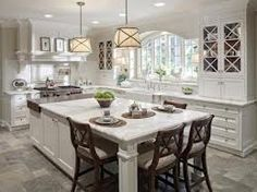 kitchen island with seating - Google Search