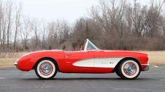 Best classic cars and more! Chevrolet Corvette, 1957 Chevrolet, Chevy, My Dream Car, Dream Cars, Little Red Corvette, Corvette Convertible, Best Classic Cars, Car Photos