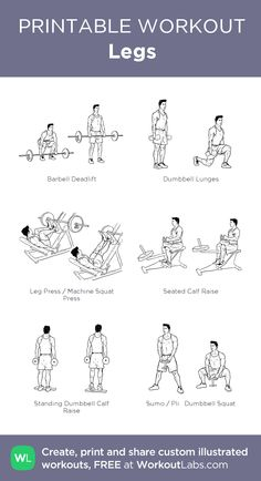 Gym Workout Guide, Gym Workout Chart, Leg Workout At Home, Plank Workout, Gym Workouts, Gym Workout Routines, Loose Weight, Easy Weight Loss, Weight Lifting