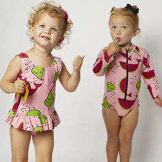 SOOKIbaby SWIM, all in one Swimsuit features with long arms and an easy zip up the front, in a gorgeous Fruity Pie print. It hasUPF+50 protection for those long hot summer days.  In a signature SOOKIbaby print throughout, the colour and print combination will have baby looking adorable at the beach, by the sea or in the pool.  Designed in Australia, this piece is crafted from Nylon Elastane. Baby Bear Cub, Bear Cubs, Girls Cuts, Long Hots, Fashion Labels, Baby Wearing, Summer Days, Baby Dolls, Zip Ups