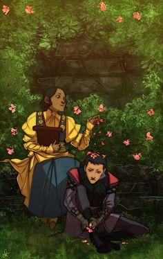 Dragon Age (garden time!)