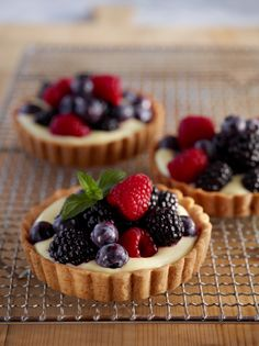 This Mixed Berry Tart is a perfectly delicious treat to share or for yourself!