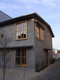 69 Trendy home architecture simple Japan Modern House, Style Japonais, Japanese House, Facade House, Trendy Home, Architect Design, Black House, House Colors, Exterior Design