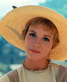 "Julie Andrews as Maria in piblicity still for ""The Sound of Music"", 1965"