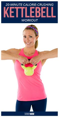 24 hours diet - This calorie crushing kettlebell workout will have you sweating and losing weight fast. - Now you can lose weight in 24 hours! The E-Factor Diet Best Kettlebell Exercises, Kettlebell Training, Workout To Lose Weight Fast, How To Lose Weight Fast, Weight Workouts, Weight Loss Tips, Losing Weight, Weight Gain, Loose Weight