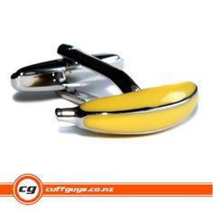 Banana Cufflinks