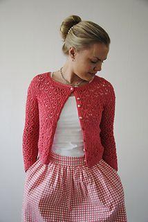 free knitting pattern ladies cardigan sweater pullover gauge 15st 27r (10cm in flower lace pattern) needle 3,5-4mm yarn 600-1000m