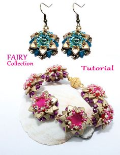 Tutorial Fairy Collection by PearlyBeadDesign on Etsy