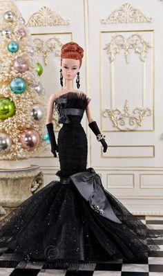 """Doll - Matt Sutton OOAK """"Black Diamond"""" 3"""