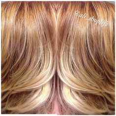 Strawberry blonde balayage #stylist #hair #hairlove #art #atlantahair #atlantahairstylist…""